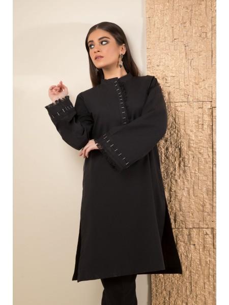 SAPPHIRE Ready to Wear Melange Black 000MELANGE01-XXS-BLK
