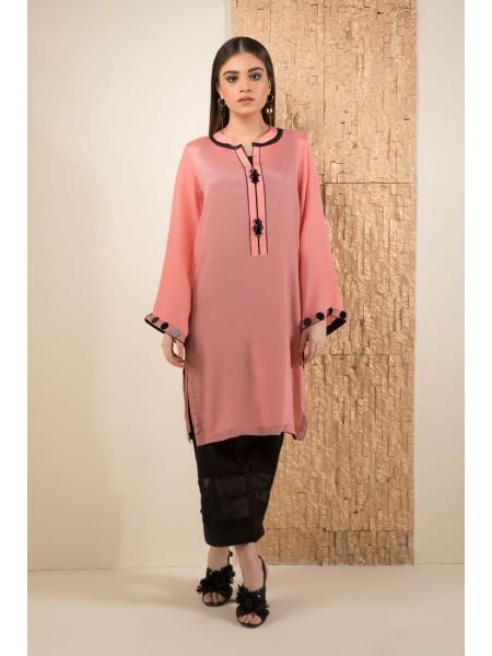 SAPPHIRE Ready to Wear Pink Maze 000PSESLK302-XXS-PNK