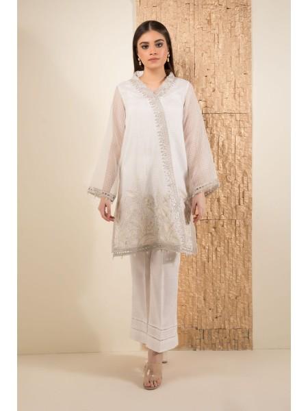 SAPPHIRE Ready to Wear White Glimmer 00LPELUX1907-XSM-WHT