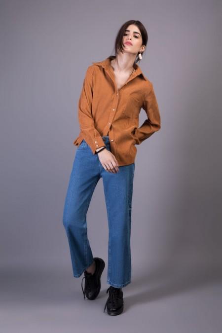 Sapphire Western Wear Carmelle WESTTOP00125-SML-BRN