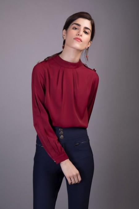 Sapphire Western Wear Martha WESTTOP00116-XSM-MRL