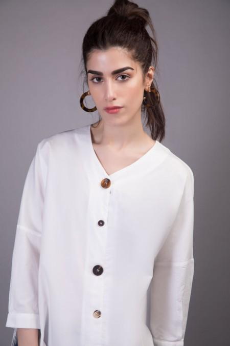 Sapphire Western Wear Olivia WESTTOP00107-XSM-WHT