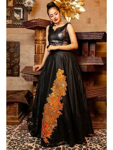 Zahra Ahmad Luxury Pret Kara Deniez