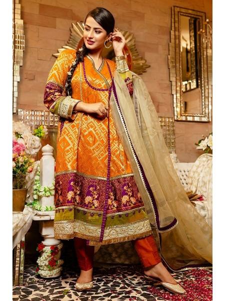 Zahra Ahmad Luxury Pret Mah-Rukh