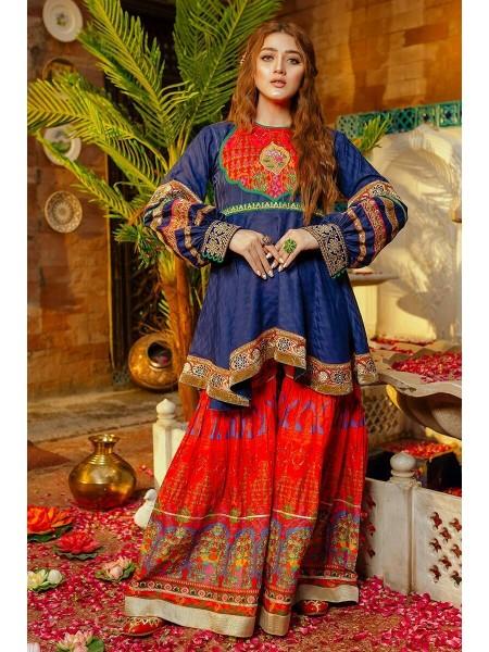 Zahra Ahmad Luxury Pret Neel Aiyla