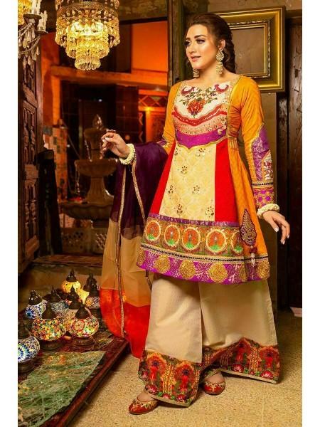 Zahra Ahmad Luxury Pret Rang Mahal