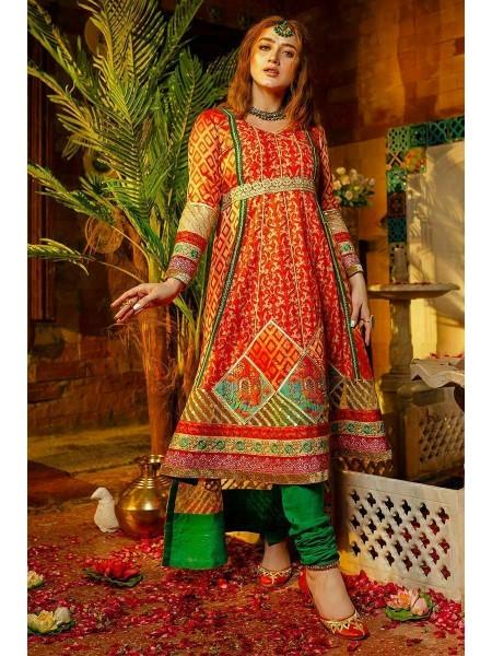 Zahra Ahmad Luxury Pret Rust Jewel