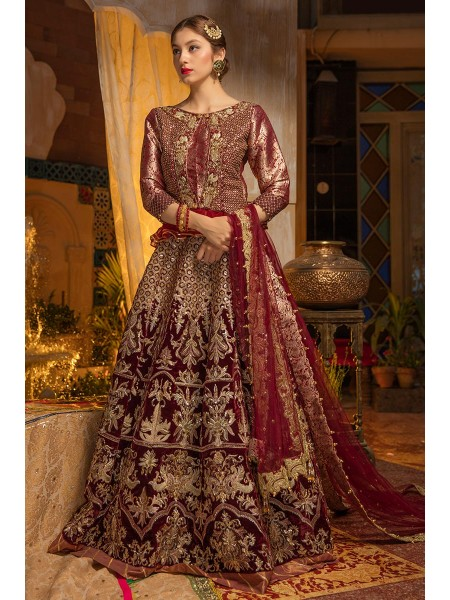 Zahra Ahmad Wedding Wear Aqua Jade GM-05