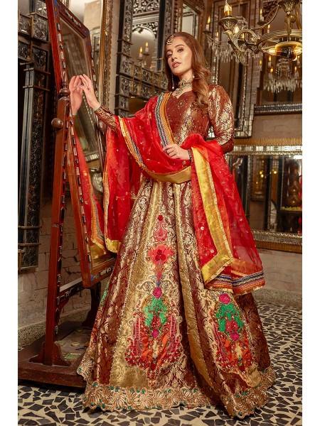 Zahra Ahmad Wedding Wear Champa Kali EB-17