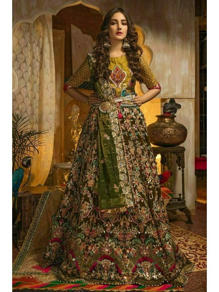 Zahra Ahmad Wedding Wear Dhani GM-04
