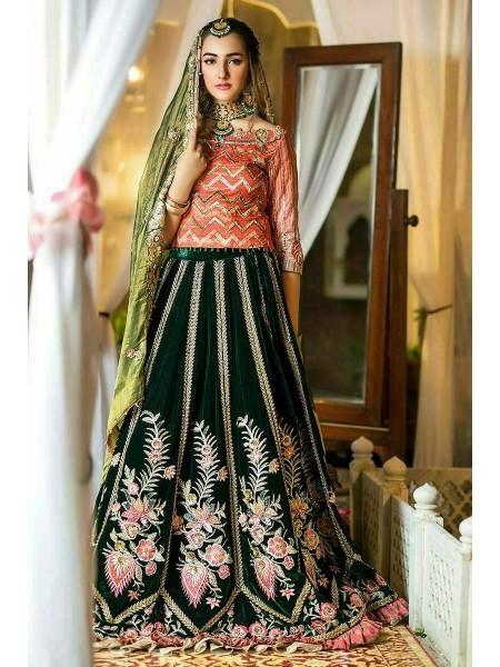 Zahra Ahmad Wedding Wear Mongia GM-09