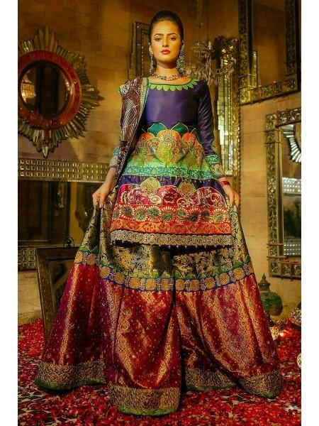 Zahra Ahmad Wedding Wear Moor Rani EB-07