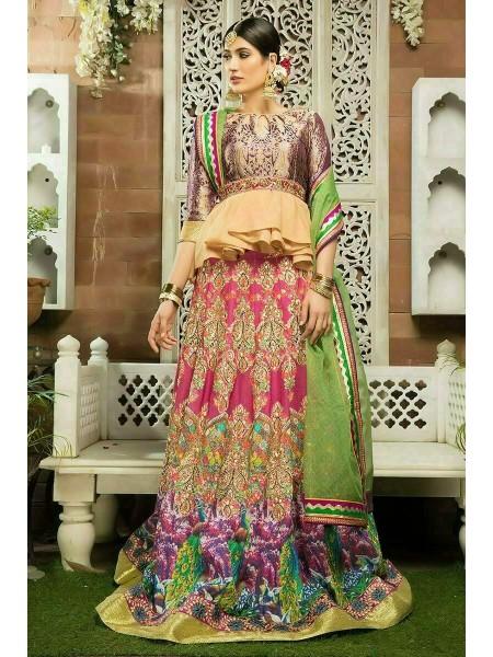 Zahra Ahmad Wedding Wear Mystry GM-21