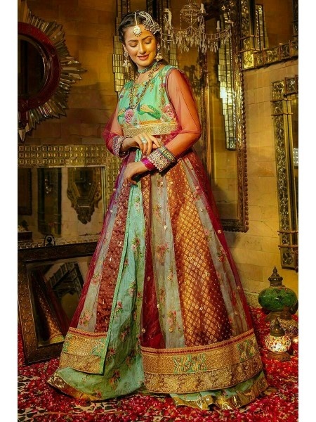 Zahra Ahmad Wedding Wear Pearl S7-83