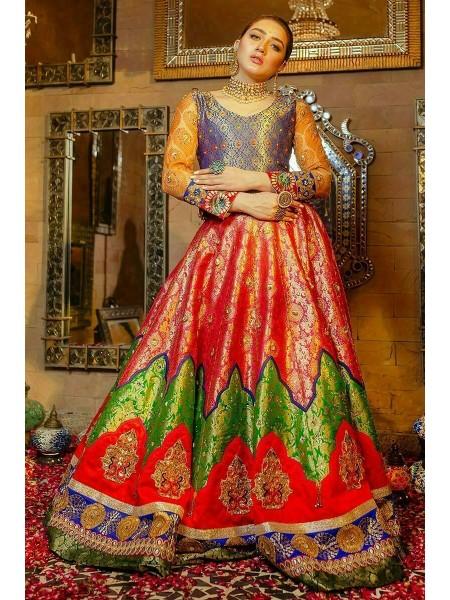 Zahra Ahmad Wedding Wear Sawan EB-21