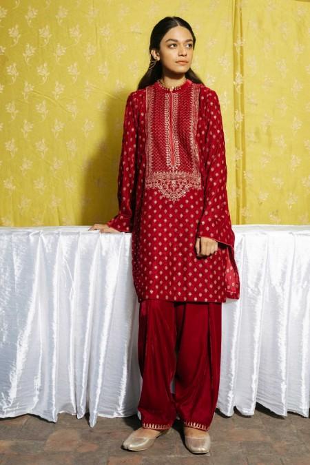 Zara Shahjahan Winter Festive ZC-1474