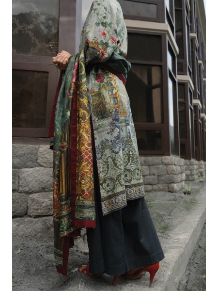 Almirah Unstitched Collection AWP-3PS-209 V-4 2019