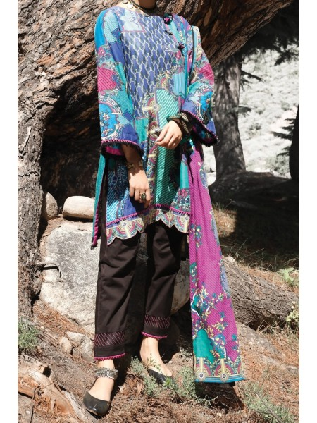 Almirah Unstitched Collection AWP-3PS-248 V-4 2019