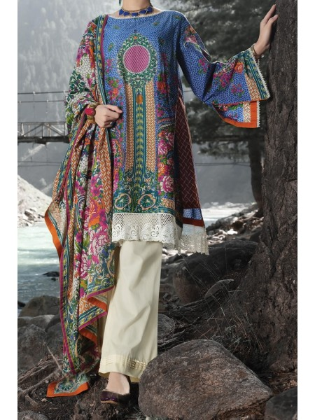 Almirah Unstitched Collection AWP-3PS-249 V-4 2019