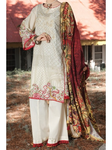 Almirah Unstitched Collection AWP-3PS-254 V-4 2019