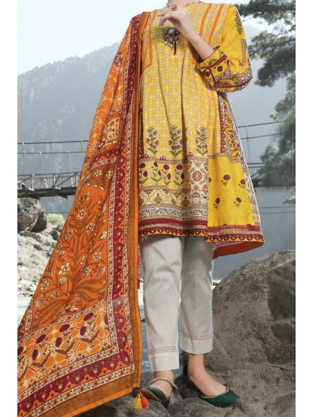 Almirah Unstitched Collection AWP-3PS-255 V-4 2019