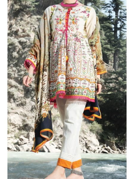 Almirah Unstitched Collection AWP-3PS-257 V-4 2019