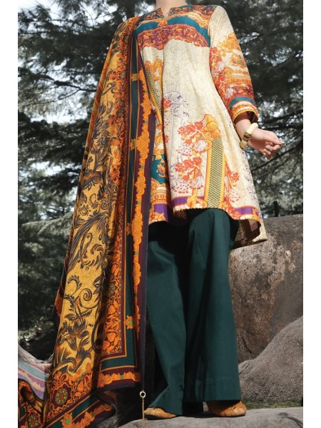 Almirah Unstitched Collection AWP-3PS-258 V-4 2019