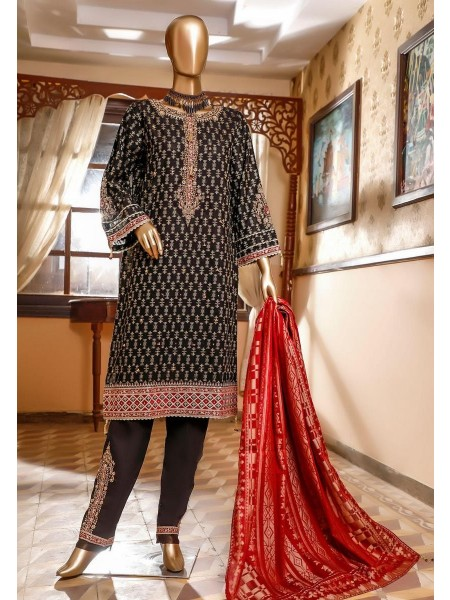 Bin Saeed 3 Piece Cotton Jacquard Collection BSCJC'20 D-07