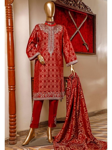 Bin Saeed 3 Piece Cotton Jacquard Collection BSCJC'20 D-09