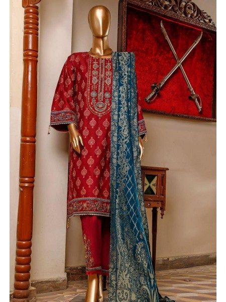 Bin Saeed 3 Piece Cotton Jacquard Collection BSCJC'20 D-10