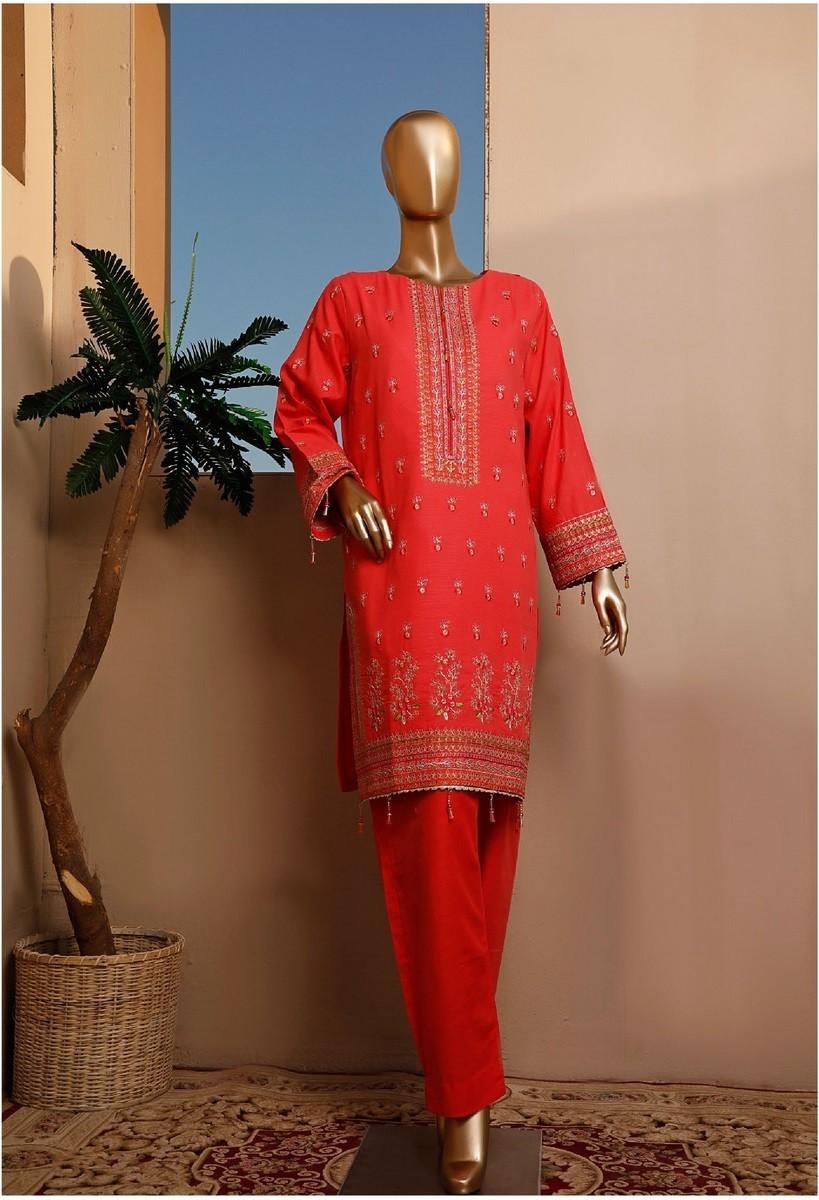 Bin Saeed Khaddar Stitched Collection BSKSC D-BFK-04B