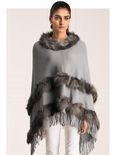 By The Way Sweater Furry Berry WRW0366-REG-GRY