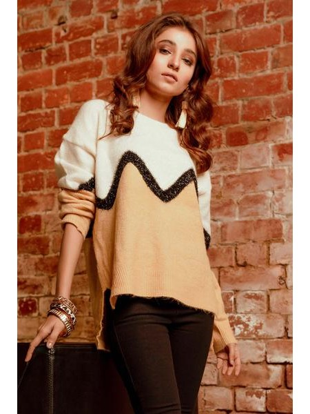 By The Way Sweater Lemon Punch WRW0416-REG-MST
