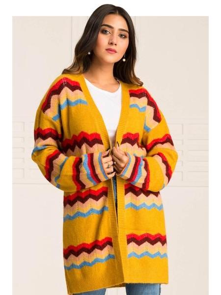 By The Way Sweater Ripe Pumpkin WRW0390-REG-MST