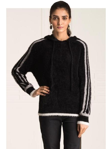 By The Way Sweater Traveling Tan WRW0361-REG-BLK