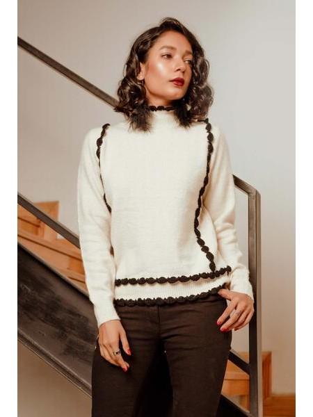 By The Way Sweater Warm Light WRW0413-REG-BGE