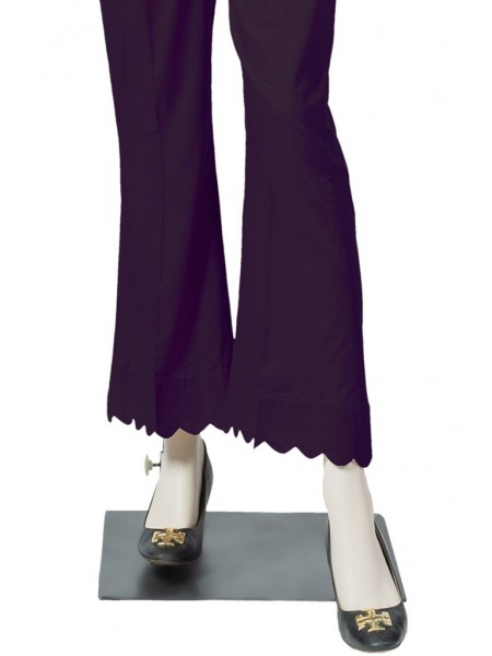 Saya Unstitched Trousers 184-6B PURPLE