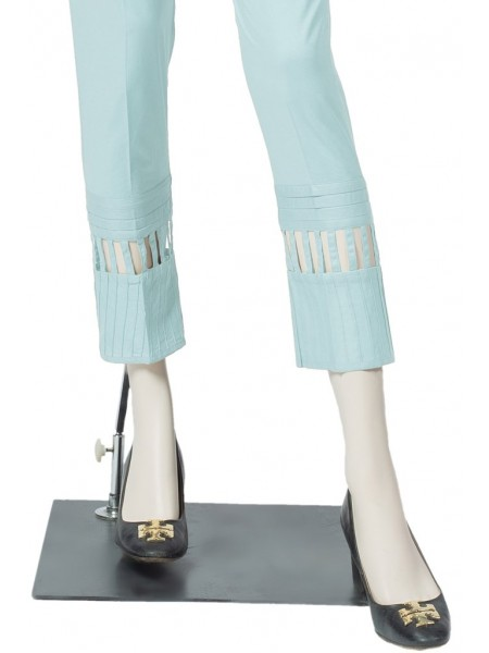 Saya Unstitched Trousers CT-GD-30 ICE BLUE