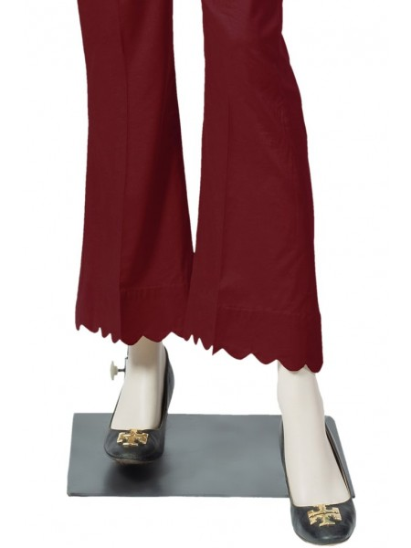 Saya Unstitched Trousers CT-GD-34 MAROON