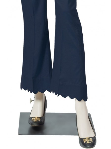 Saya Unstitched Trousers CT-GD-35 NAVY BLUE