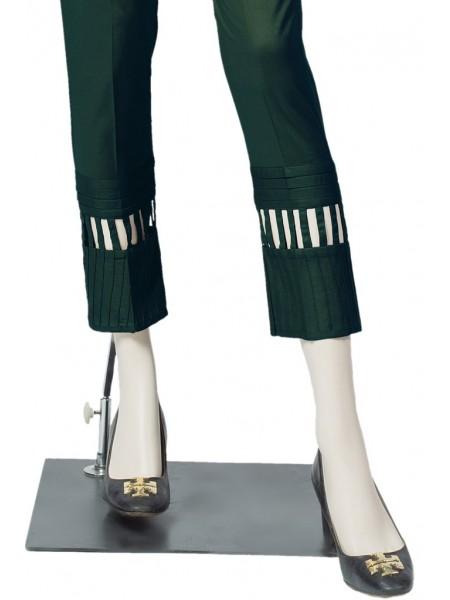 Saya Unstitched Trousers LOZENGE UT-1915-01D THYME