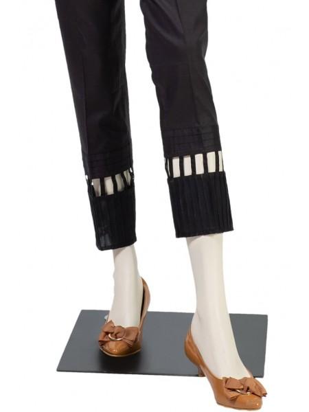 Saya Unstitched Trousers NT-GD-023 BLACK