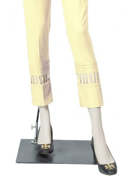Saya Unstitched Trousers NT-GD-03 CREAM