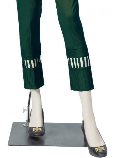 Saya Unstitched Trousers PIETRA NERA UG187-1C GREEN