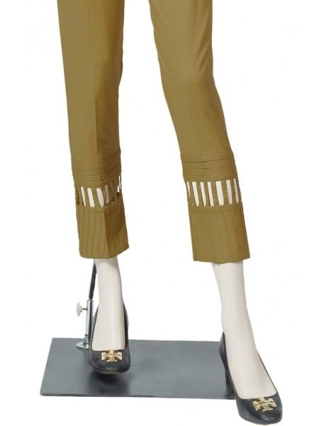 Saya Unstitched Trousers UO-194-5A MEHNDI GREEN