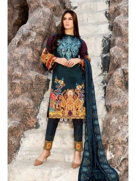 Sitara Studio Winter Hues Unstitched20 Queen 26
