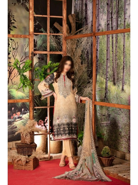 Tawakkal Classic Karandi Digital Prints Collection TCKDPC D-8549