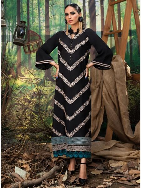 Zainab Chottani Explore Collection Intense black 100068