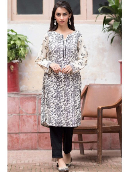 Zeen Woman Merak Winter Pret Stitched 1 Piece Digital Printed Cambric WL195031-White