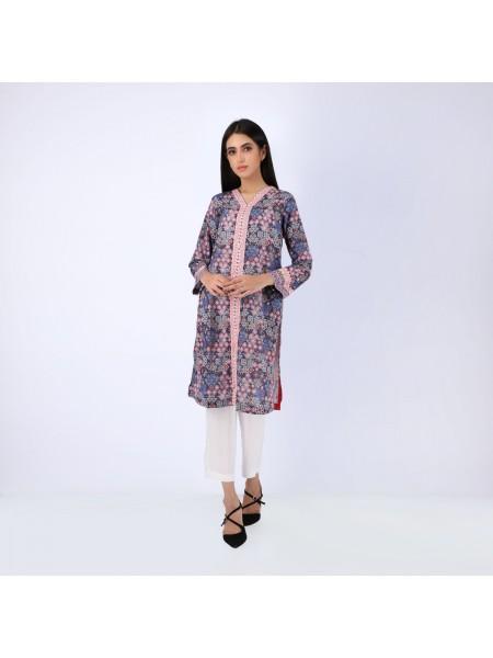 Zellbury Fabric By Meter Bossanova Violet - 1 Piece - Lawn Shirt ZWROT19049-C